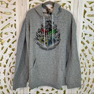 Harry Potter Crest Hoodie Sweatshirt